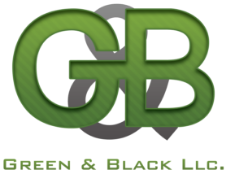 Green & Black logo
