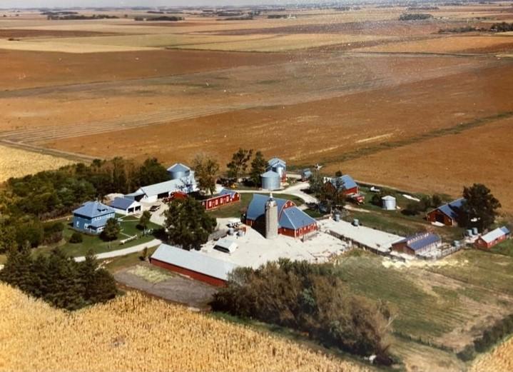 Aerial Photo of the farm