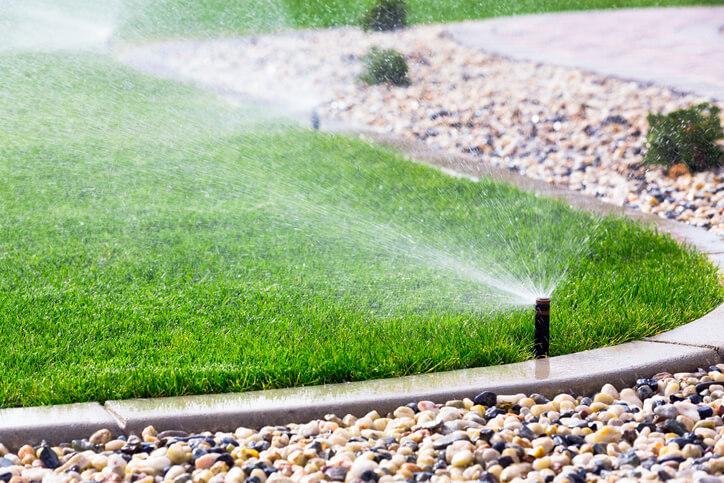 irrigation installation